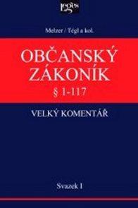 Občanský zákoník I. svazek § 1-117 Obecná ustanovení