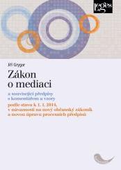 Zákon o mediaci - Jiří Grygar - 15x21