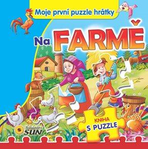 Na farmě - Moje první puzzle hrátky