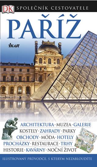 Paříž - Společník cestovatele - 13x22 cm