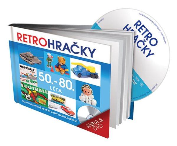 Retro hračky - DVD a kniha - neuveden - 13x14