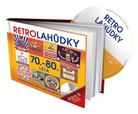 Retro Lahůdky 70. a 80. léta - kniha a DVD