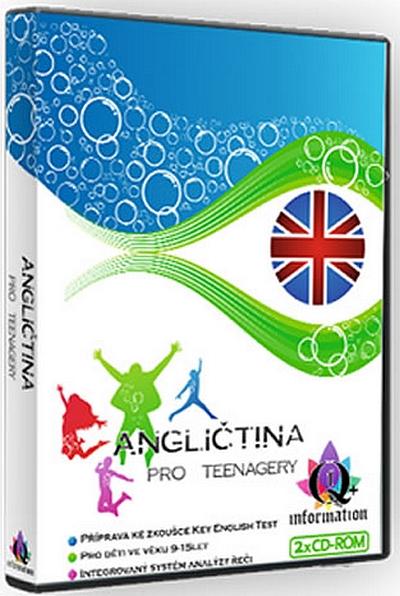 CD Angličtina pro teenagery