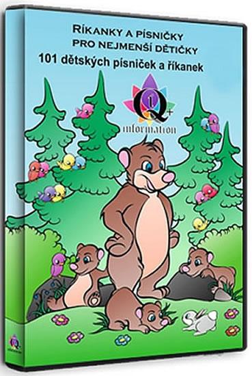 CD Říkanky a písničky pro nejmenší dětičky - neuveden