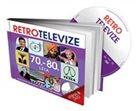 Retro televize - 70. - 80. léta - kniha a DVD
