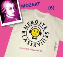 CD Nebojte se klasiky! 6 Wolfgang Amadeus Mozart