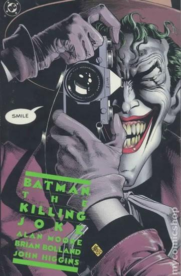 Batman - Kameňák, Muž, který se smál - Moore Alan