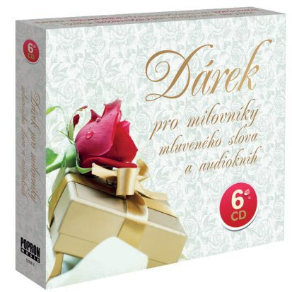 CD Dárek pro milovníky mluveného slova a audioknih - neuveden - 13x14