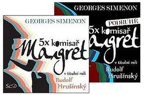 5x komisař Maigret + 5x komisař Maigret podruhé - 10CD