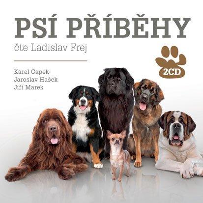 CD Psí příběhy - Čapek Karel, Hašek Jaroslav, Marek Jiří, - 13x14