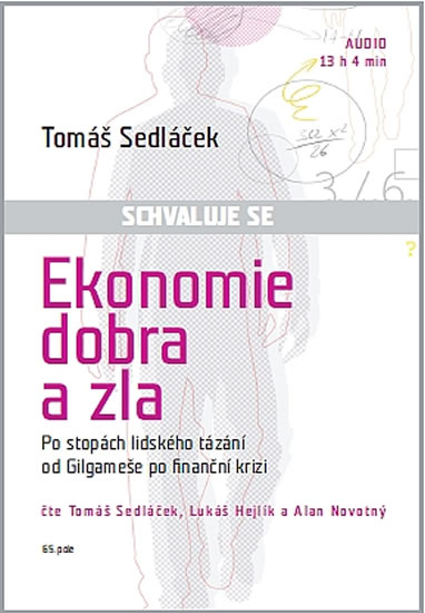 CD Ekonomie dobra a zla - Sedláček Tomáš - 14x19
