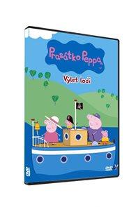 DVD Prasátko Peppa 4 - Výlet lodí