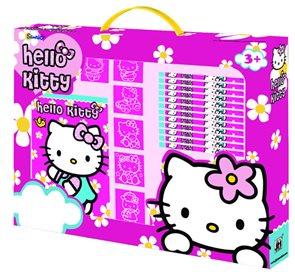 Souprava pro razítkování - Hello Kitty