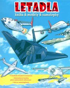 Letadla - Kniha + modely + samolepky