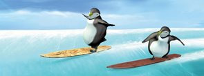 Záložka Úžaska - Tučňáci na snowboardu