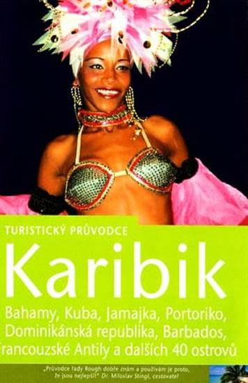 Karibik - turistický průvodce Rough Guides - 13x20 cm