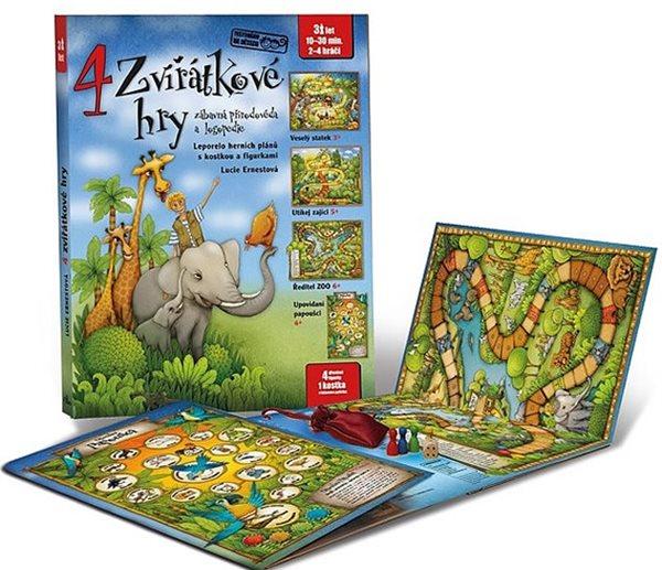 4 zvířátkové hry - Lucie Ernestová - 27x34