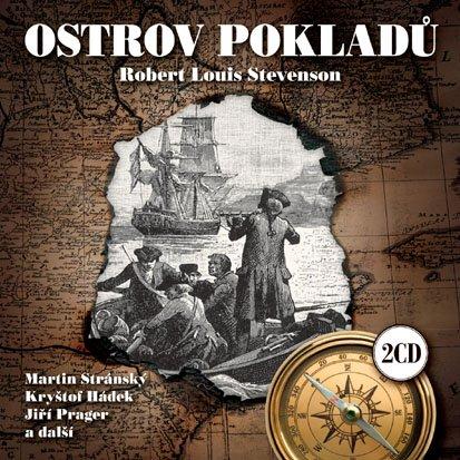 CD Ostrov pokladů - Stevenson Robert Louis - 13x14