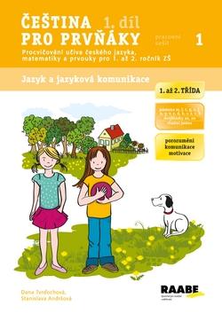 Čeština pro prvňáky 1. díl - pracovní sešit - Tvrďochová Dana, Andršová Stanislava - A4