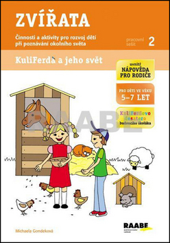 Zvířata - pracovní sešit Kuliferda - Gondeková Michaela - A4
