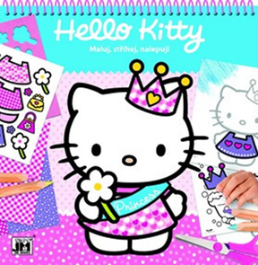 Hello Kitty - Maluj, stříhej, nalepuj!