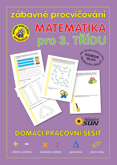 Zábavné procvičování Matematika 3. třída - 17x24
