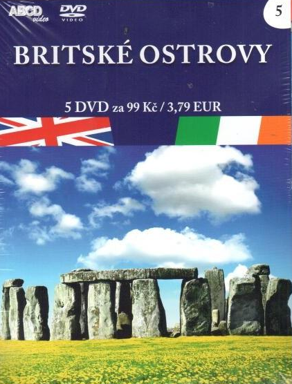 Britské ostrovy 5 DVD - neuveden - 13x19