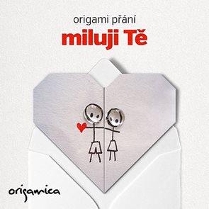 Origami přání - Miluji Tě