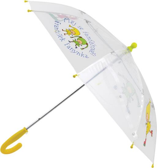Deštník dětský průhledný Kouzelná školka 66 cm