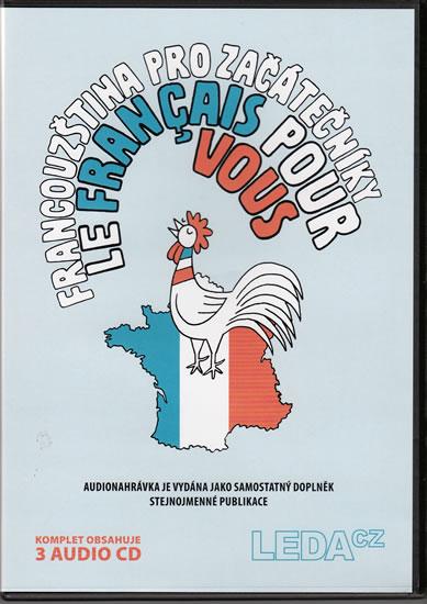 CD Francouzština pro začátečníky (Le français pour vous) - 14x19