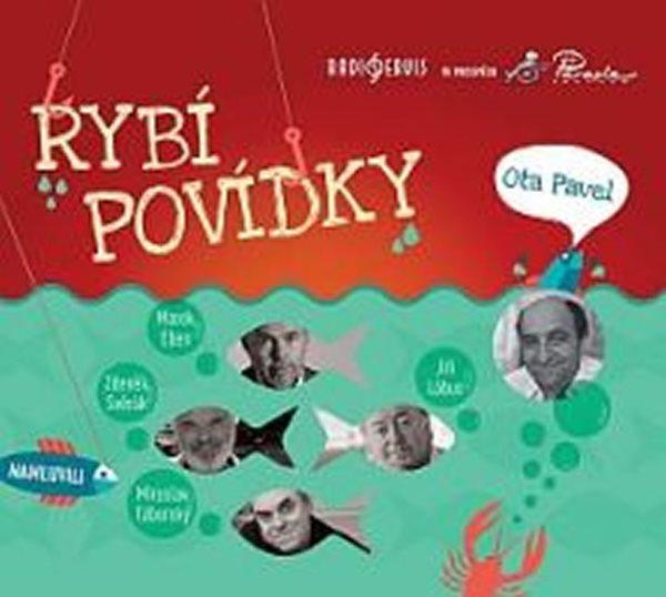 CD Rybí povídky - Ota Pavel - 13x14