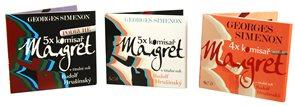 Komplet komisař Maigret komplet 14 CD