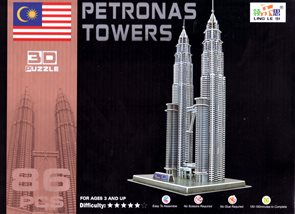 Puzzle 3D - Petronas Towers