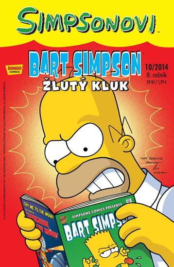 Simpsonovi - Bart Simpson 10/2014 - Žlutý kluk - Groening Matt - 17x26