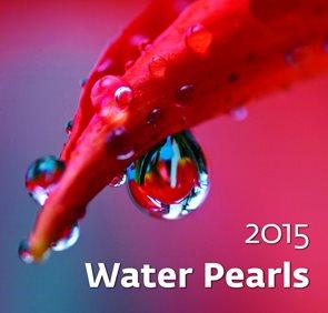 Helma Nástěnný kalendář měsíční 34x32,5cm - Water Pearls
