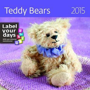 Helma Nástěnný kalendář LP měsíční 30x60 cm - Teddy Bears
