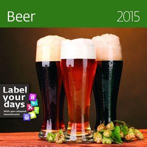 Helma Nástěnný kalendář LP měsíční 30x60 cm - Beer