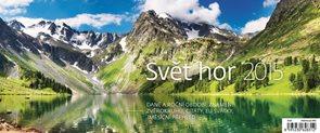 Helma Stolní kalendář týdenní 32,1x13,4 cm - Svět hor