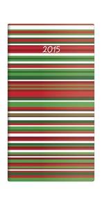 Helma diář kapesní 2015 Napoli čtrnáctidenní 8,5 x 15,4 cm - design 05