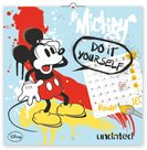 Poznámkový kalendář -  Mickey Mouse omalovánky