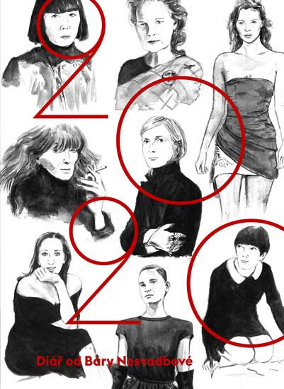 Diář 2020 od Báry Nesvadbové - Nesvadbová Barbara