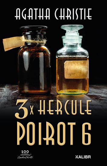 3x Hercule Poirot 6 - Christie Agatha
