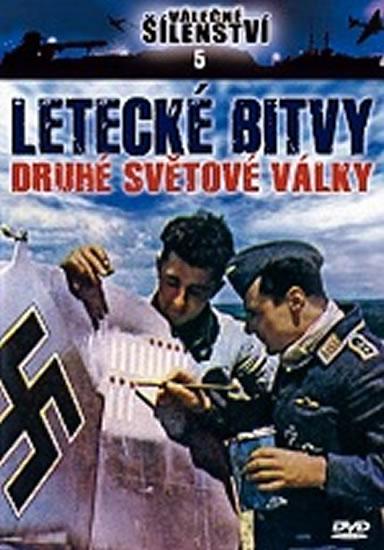 Letecké bitvy 2. světové války - DVD - neuveden