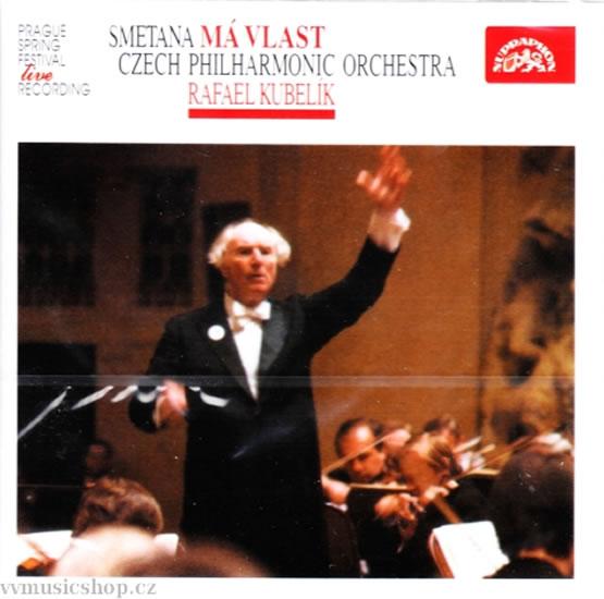 Má vlast. Cyklus symfonický - CD - Smetana Bedřich
