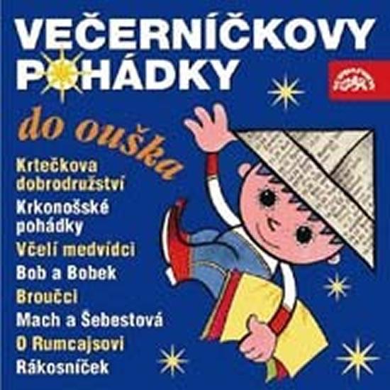CD Večerníčkovy pohádky do ouška - Různí interpreti