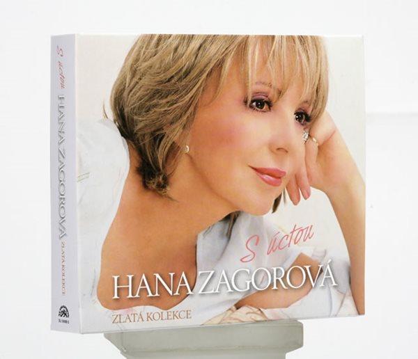 S úctou Hana Zagorová - 4CD - Zagorová Hana