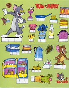 Vystřihovánky - Tom and Jerry
