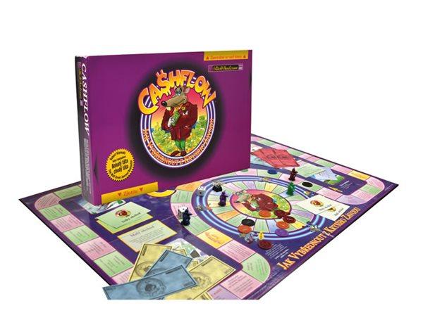 Cashflow - cvičebnice (hra) - Jak vybřednout z Krysího závodu - Kiyosaki Robert T., Doprava zdarma