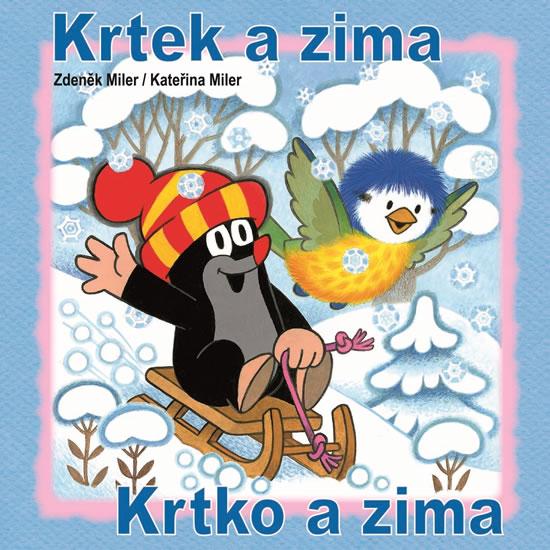 Krtek a zima - omalovánky čtverec - Miler Zdeněk, Miler Kateřina