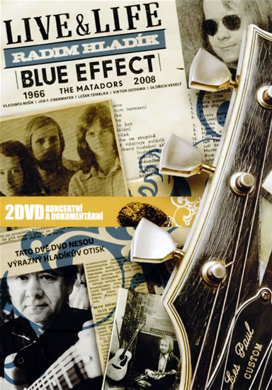 Live & Life R. Hládek Blue Effect 2DVD - Blue Effect